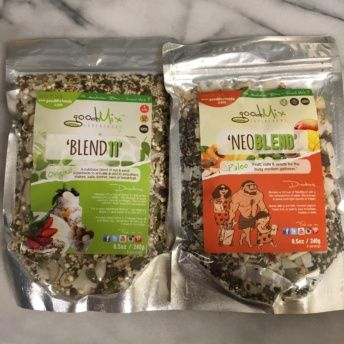 Gluten-free nut and seed mixes from Good Mix Superfoods
