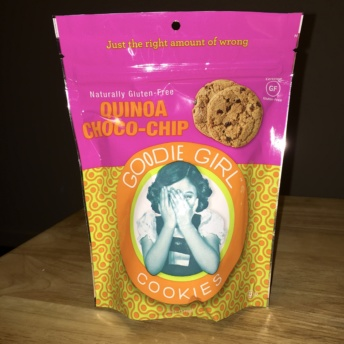 Gluten-free quinoa cookies by Goodie Girl Cookies