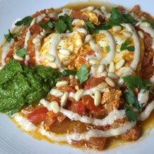 Gluten-free dish from Gotan