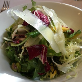 Gluten-free salad from Gotham Bar and Grill