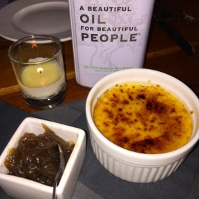 Gluten-free cheese brulee from Gradisca