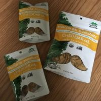 Gluten-free baked crackers from Green Mustache