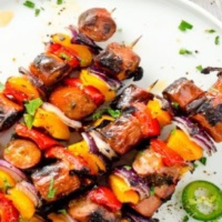 Gluten-free skewers from Grimm's Fine Foods