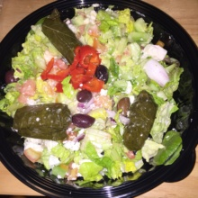 Gluten-free salad from HK Hells Kitchen