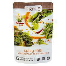 Gluten-free spicy Thai dressing from Hak's