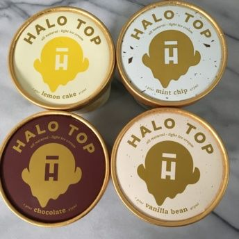 Gluten-free low calorie ice cream from Halo Top