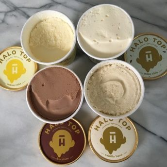 Gluten-free protein ice cream from Halo Top