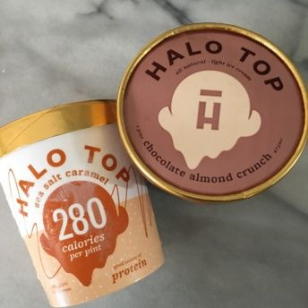 Gluten-free ice cream from Halo Top