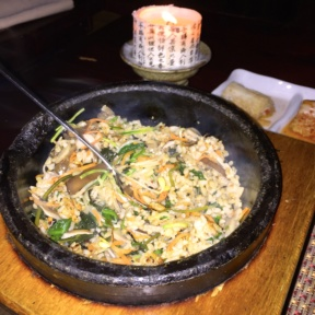 Gluten-free fried rice from Hangawi