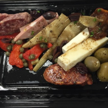 Gluten-free antipasto from Harry's Italian