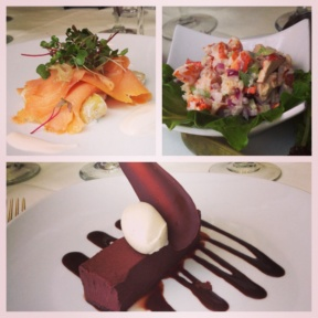 Gluten-free dishes from Harvest
