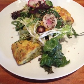 Gluten-free frittata from Hearth