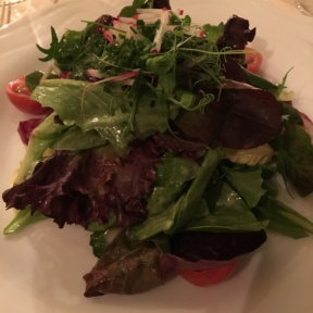 Gluten-free salad from Homestead Inn