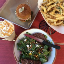 Gluten-free burgers and fries from Hopdoddy Burger Bar