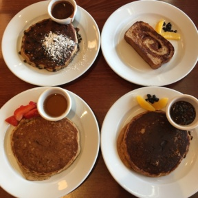 4 types of Gluten-free pancakes from Hugo's