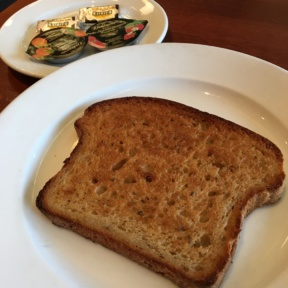 Gluten-free toast from Hugo's