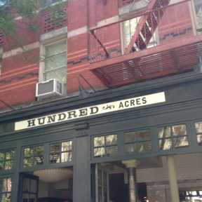 Hundred Acres in SoHo NYC
