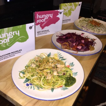 Gluten-free zoodles from Hungry Root