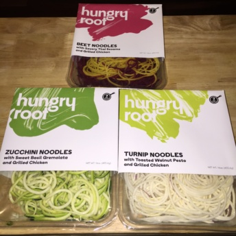 Gluten-free veggie noodles by Hungry Root