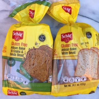 Gluten-free bread by Schar