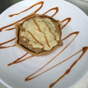 GF apple tart from Tali
