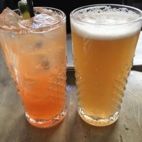 Kombrewcha drinks at Root n Bone