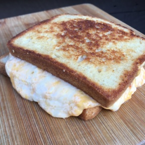 Cheesy grilled cheese from Cheese Grille
