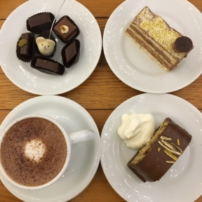 Gluten-free chocolates and cakes from L.A. Burdick