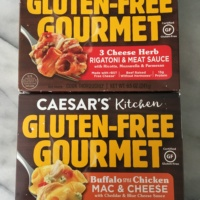 Gluten-free pasta meals by Caesar's Kitchen
