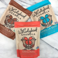 Gluten-free granola by Whirlybird Granola