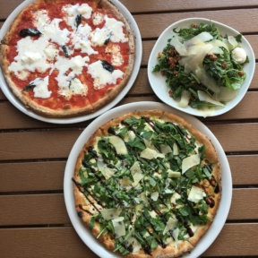 Gluten-free pizzas from Brick + Wood