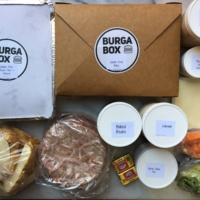 Gluten-free burger meal kit from BurgaBox