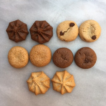 Five types of gluten-free cookies by Homefree