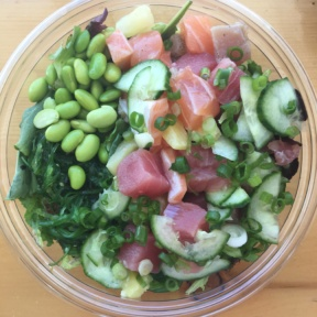 Gluten-free poke bowl from Poke Me