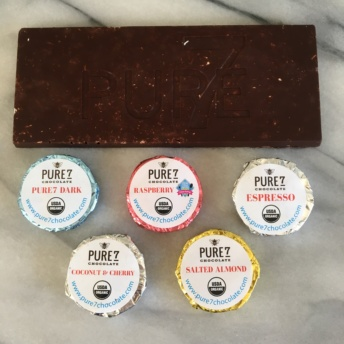 Dairy free and soy free chocolate by Pure7 Chocolate