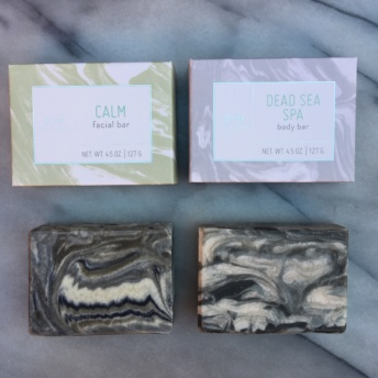 Facial bar and body bar by Ayr Skin Care