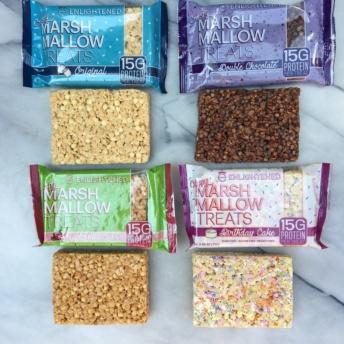 Gluten-free crispy marshmallow treats by Enlightened