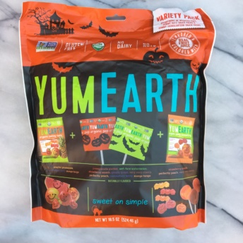 Organic Halloween candy by Yum Earth