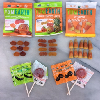 Gluten-free halloween candies by Yum Earth