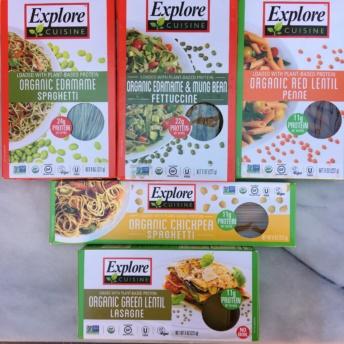 Gluten-free pastas by Explore Cuisine