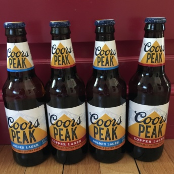 Gluten-free beer by Coors Peak