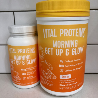 Gluten-free morning get up & glow by Vital Proteins