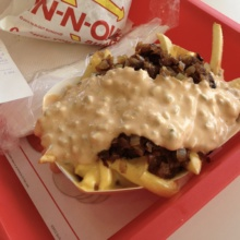 Gluten-free fries from In N Out Burger