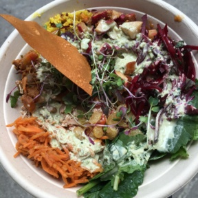 Gluten-free Indian bowl from Inday