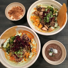 Gluten-free bowls from Inday