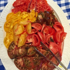Gluten-free tomatoes from Indian Harbor Yacht Club (IHYC)