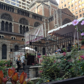 Inside Park at St. Barts in NYC
