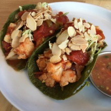 Gluten-free tacos from Jajaja