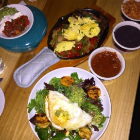 Gluten-free brunch spread from Javelina