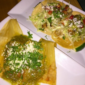Gluten-free tacos from Javelina
